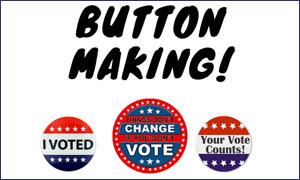 three vote buttons
