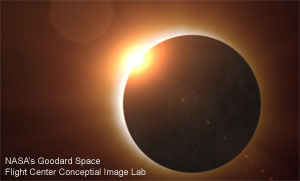 Eclipse from NASA's Goddard Space Flight Center Conceptual Image Lab