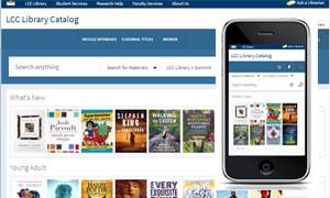 library catalog screenshots