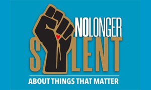 No longer silent about thins that matter