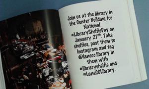 Join us for National #LibraryShelfieDay