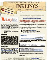 Cover: The Magazine/Journal Locator