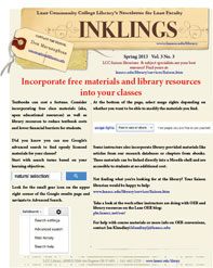 Cover: Incorporate Free Materials and Library Resources into Your Classes