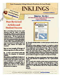 Peer-Reviewed Articles and Student Success