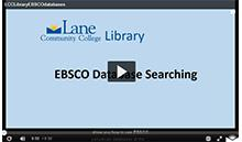 "Opening screen for video: ""EBSCO Database Searching"""