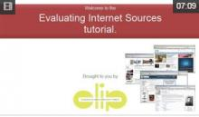 Video: Evaluating Internet Sources