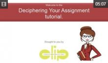 Video: Deciphering Your Assignment