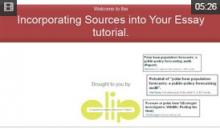 Video: Incorporating Sources into Your Essay