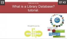 Video: What is a library database