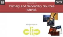 Video: Primary and Secondary Sources